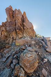 Big Bend National Park, Texas, USA. Big Bend National Park, Texas, USA. Big Bend National Park, Texas, USA.Patterns in granite rock formations, Grapevine Hills of Big Bend National Park, Texas, USA.