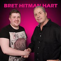 Bret Hart 2016 (Newcastle)