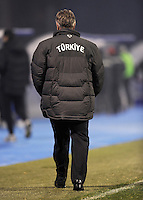 Fussball International, Nationalmannschaft   EURO 2012 Play Off, Qualifikation, Kroatien - Tuerkei       15.11.2011 Trainer Guus Hiddink (Tuerkei)