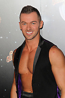 LONDON - SEPTEMBER 11: Artem Chigvintsev attended the Strictly Come Dancing Launch at the BBC Television Centre, London, UK. September 11, 2012. (Photo by Richard Goldschmidt)
