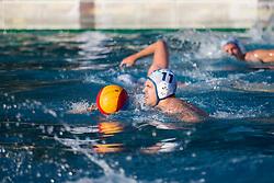 Andraz Trtovsek of VKL Ljubljana Slovan during water polo match between VKL Ljubljana Slovan and AVK Triglav Kranj in 3rd Round of Final of Slovenian Water polo National Championship, on June 16, 2018 in Kodeljevo, Ljubljana, Slovenia. Photo by Urban Urbanc / Sportida