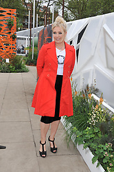 KIM WILDE at the 2013 RHS Chelsea Flower Show held in the grounds of the Royal Hospital, Chelsea on 20th May 2013.