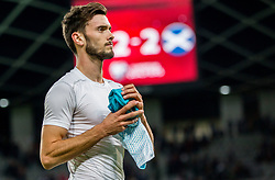 Amedej Vetrih of Slovenia after the football match between National Teams of Slovenia and Scotland of Fifa 2018 World Cup European qualifiers, on October 8, 2017 in SRC Stozice, Ljubljana, Slovenia. Photo by Vid Ponikvar / Sportida