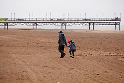 © Licensed to London News Pictures.09/04/2012, Skegness, North Lincolnshire, UK. Bank Holiday Monday weather, Skegness sea front.Photo credit : Dave Warren/LNP