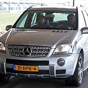 NLD/Noordwijk/20110207 - Aankomst Nederlands elftal in hotel voor oefeninterland Nederland - Oostenrijk,
