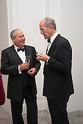 Mark Weiss dinner, Nationaal Portrait Gallery. London. 15 October 2012.