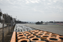February 17, 2018 - Barcelona, Catalonia, Spain - Re-asphalt and turns remodelations at the Formula One and Moto GP circuit to improve the security of the Spanish track at Circuit de Barcelona - Catalunya in Barcelona on 17 of February, 2018. (Credit Image: © Xavier Bonilla/NurPhoto via ZUMA Press)