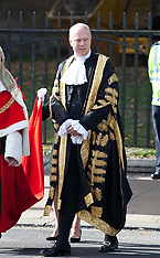 OCT 01 2014 Judges Procession To Westminster Abbey
