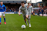 Portsmouth forward John Marquis (10) in action  during the EFL Sky Bet League 1 match between Peterborough United and Portsmouth at London Road, Peterborough, England on 7 March 2020.
