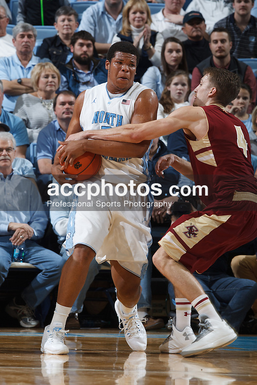 CHAPEL HILL, NC - JANUARY 18: Kennedy Meeks #3 of the North Carolina Tar Heels plays during a game against the Boston College Eagles on January 18, 2014 at the Dean E. Smith Center in Chapel Hill, North Carolina. North Carolina won 82-71. (Photo by Peyton Williams/UNC/Getty Images) *** Local Caption *** Kennedy Meeks