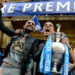 Leicester City celebrations | Championship | 5 May 2014,