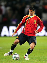 Joan Capdevila  during the Semi Final soccer match of the 2009 Confederations Cup between Spain and the USA played at the Freestate Stadium,Bloemfontein,South Africa on 24 June 2009.  Photo: Gerhard Steenkamp/Superimage Media.