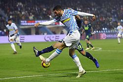 """Foto LaPresse/Filippo Rubin<br /> 26/12/2018 Ferrara (Italia)<br /> Sport Calcio<br /> Spal - Udinese - Campionato di calcio Serie A 2018/2019 - Stadio """"Paolo Mazza""""<br /> Nella foto: MATTIA VALOTI (SPAL)<br /> <br /> Photo LaPresse/Filippo Rubin<br /> December 26, 2018 Ferrara (Italy)<br /> Sport Soccer<br /> Spal vs Udinese - Italian Football Championship League A 2018/2019 - """"Paolo Mazza"""" Stadium <br /> In the pic: MATTIA VALOTI (SPAL)"""