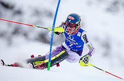 29.12.2014, Hohe Mut, Kühtai, AUT, FIS Ski Weltcup, Kühtai, Slalom, Damen, 1. Durchgang, im Bild Mikaela Shiffrin (USA) // Mikaela Shiffrin of the USA in action during 1st run of Ladies Slalom of the Kuehtai FIS Ski Alpine World Cup at the Hohe Mut Course in Kuehtai, Austria on 2014/12/29. EXPA Pictures © 2014, PhotoCredit: EXPA/ JFK