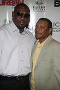 l to r: Warren Brathwaite and Miller London at The Urban Network Magazine and Alistair Entertainment V.I.P Reception honoring Stephen Hill & Charles Warfield & theCelebration of Urban Network's 21st Anniversary held at the Canal Room on May 13, 2009 in New York City .