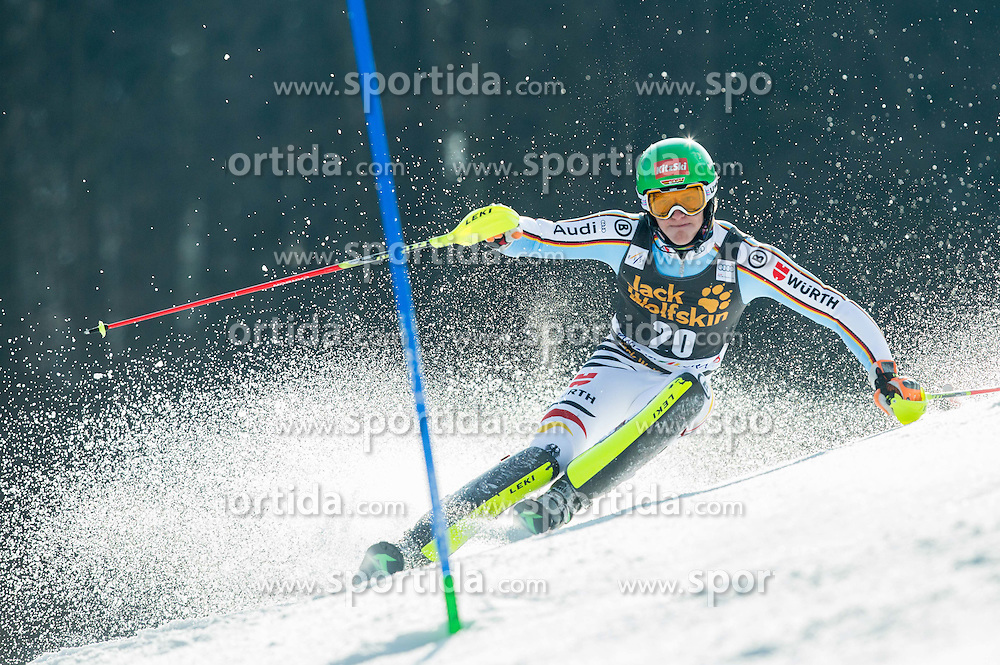STRASSER Linus of Germany competes during 1st Run of Men Slalom race of FIS Alpine Ski World Cup 54th Vitranc Cup 2015, on March 15, 2015 in Kranjska Gora, Slovenia. Photo by Vid Ponikvar / Sportida