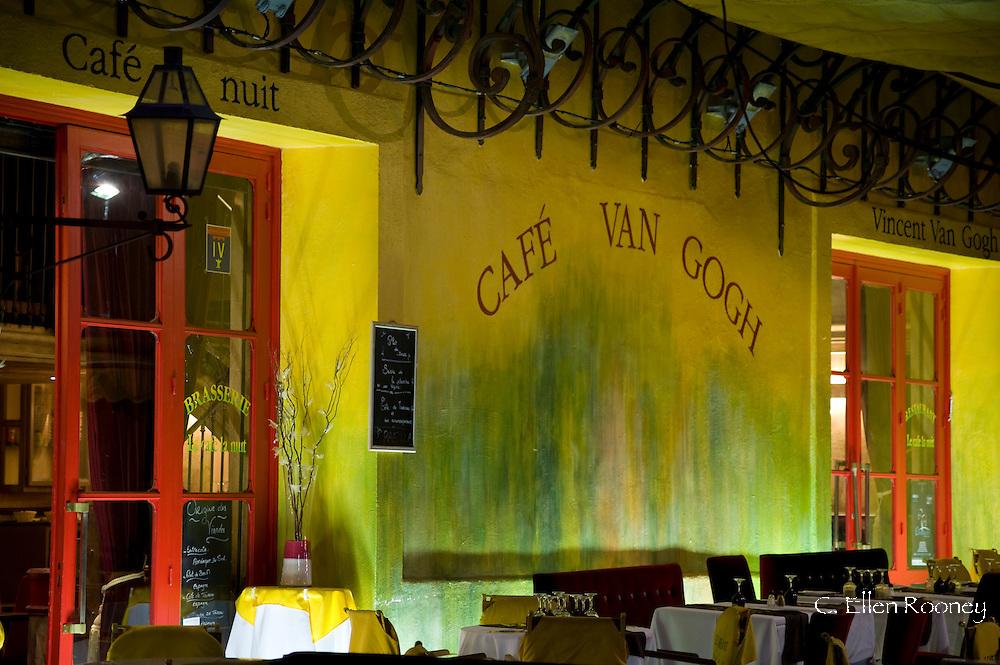 The Cafe Van Gogh in Arles, France