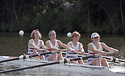 "Henley on Thames. Henley. GREAT BRITAIN;  GBR LW4-. <br /> <br /> 1995 Women's Henley Regatta. Henley Reach. River Thames.<br /> <br /> [Mandatory Credit; ""Photo, Peter Spurrier/Intersport-images]"