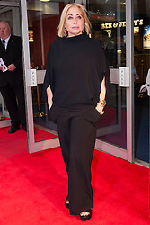 Odeon West End, London, June 16th 2014. Fashion guru Brix Smith-Start arrives at the Odeon West End in Leicester Square, London, for the gala Screening of Clint Eastwood's big screen version of the Tony Award winning musical Jersey Boys.