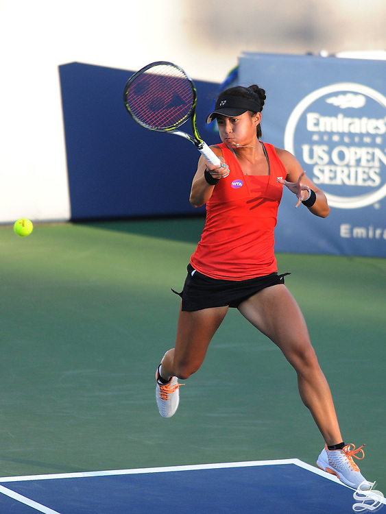 Carol Zhao. Bank of the West Classic 2016. Photo by Mike Kheir
