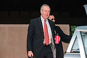 Kenneth Starr, the independent prosecutor investigating President Clinton's affair with former White House intern Monica Lewinsky gets into his car September 10, 1998 at his home in McClean, VA. Starr has agreed to grant immunity to Lewinsky in return for her cooperation in the investigation.