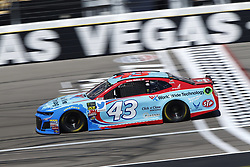 September 14, 2018 - Las Vegas, Nevada, United States of America - Darrell Wallace, Jr (43) brings his race car down the front stretch during practice for the South Point 400 at Las Vegas Motor Speedway in Las Vegas, Nevada. (Credit Image: © Chris Owens Asp Inc/ASP via ZUMA Wire)