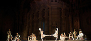La Bayad&egrave;re<br /> The Mariinsky Ballet <br /> at The Royal Opera House, London, Great Britain <br /> rehearsal <br /> 11th August 2011 <br /> <br /> Company <br /> <br /> Photograph by Elliott Franks