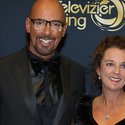 NLD/Amsterdam/20151015 - Televizier gala 2015, Maik de Boer en zus