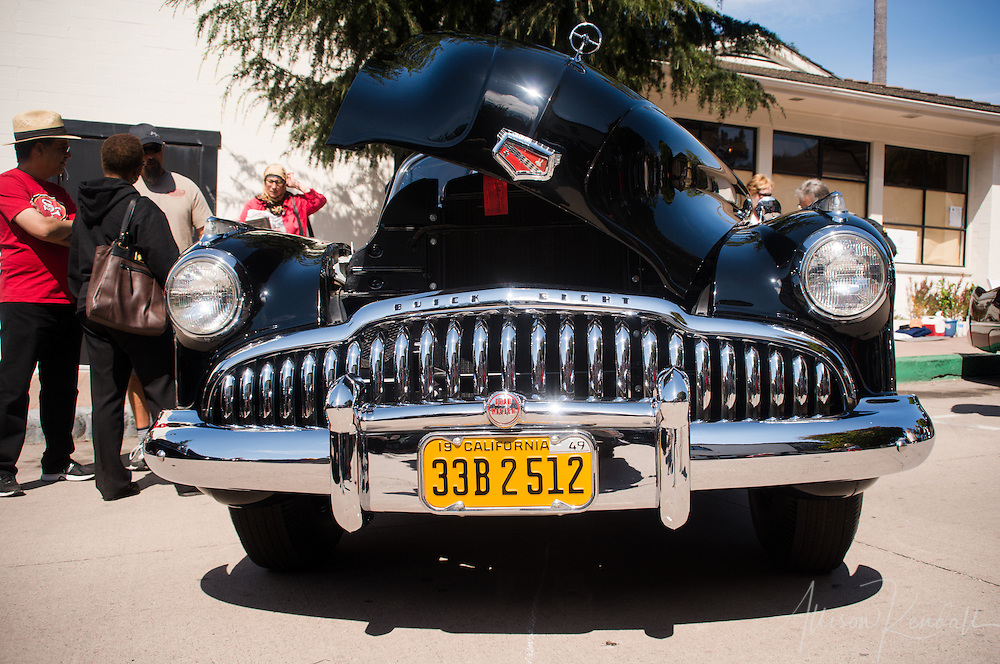 1949 Buick Eight Road Master seen at the Carmel-by-the-Sea Concours on the Avenue event during Monterey Car Week