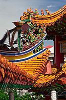 The decorative Thean Hou Temple in Kuala Lumpur.