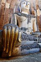 Thailande, province de Sukhothai, parc archeologique de Sukhothai, Wat Si Chum // Thailand, Sukhothai, Sukhothai Historical Park, Wat Si Chum