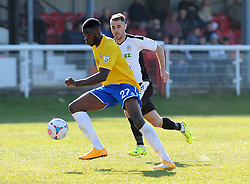 Bristol Rovers' Nathan Blissett  - Photo mandatory by-line: Neil Brookman/JMP - Mobile: 07966 386802 - 18/04/2015 - SPORT - Football - Dover - Crabble Athletic Ground - Dover Athletic v Bristol Rovers - Vanarama Football Conference