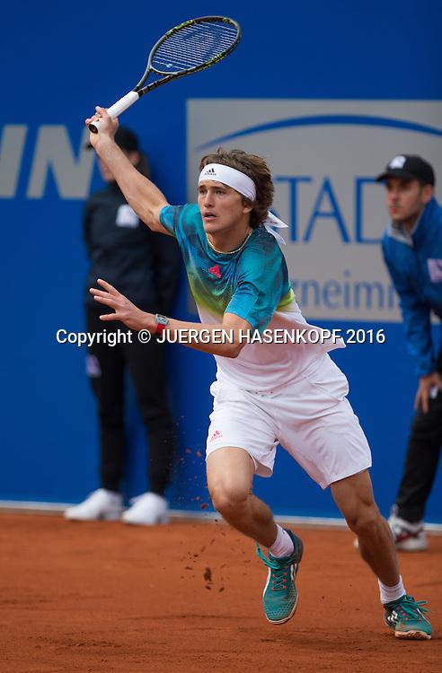 Alexander Zverev (GER)<br /> <br /> Tennis - BMW Open2016 -  ATP  -  MTTC Iphitos - Munich -  - Germany  - 28 April 2016.