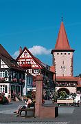Deutschland, Germany,Baden-Wuerttemberg.Schwarzwald.Gengenbach, Stadttor.Gengenbach, city gate...