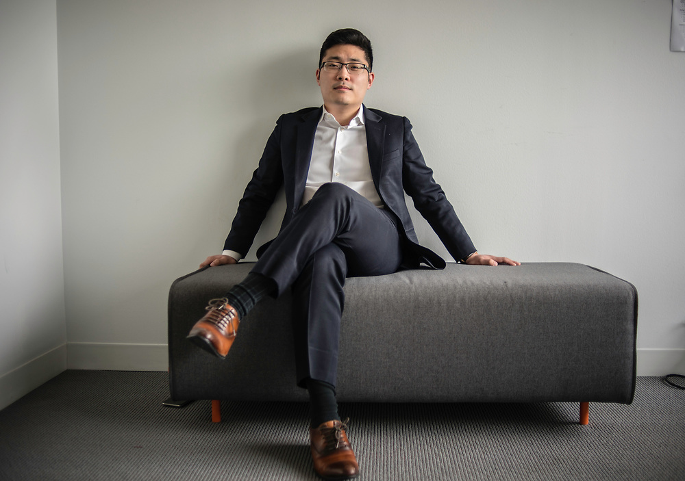 WASHINGTON, DC -- 12/6/17 -- Tim Hwang is the founder and CEO of FiscalNote which uses AI, analytics and natural language processing to automate and analyze government tasks and data…by André Chung #_AC16355