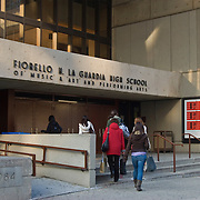 "Fiorello H. LaGuardia High School of Music & Art and Performing Arts, also known as ""LaGuardia Arts"", is a prestigious school located in the Lincoln Center Area of Manhattan. It was formed by the combination of the High School of Music & Art and the High School of Performing Arts (which was featured in the move and TV series ""Fame"")."