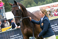 Kitty King (GBR) & Persimmon - First Horse Inspection - Longines FEI European Eventing Championships - Blair Castle, Scotland - 09 September 2015