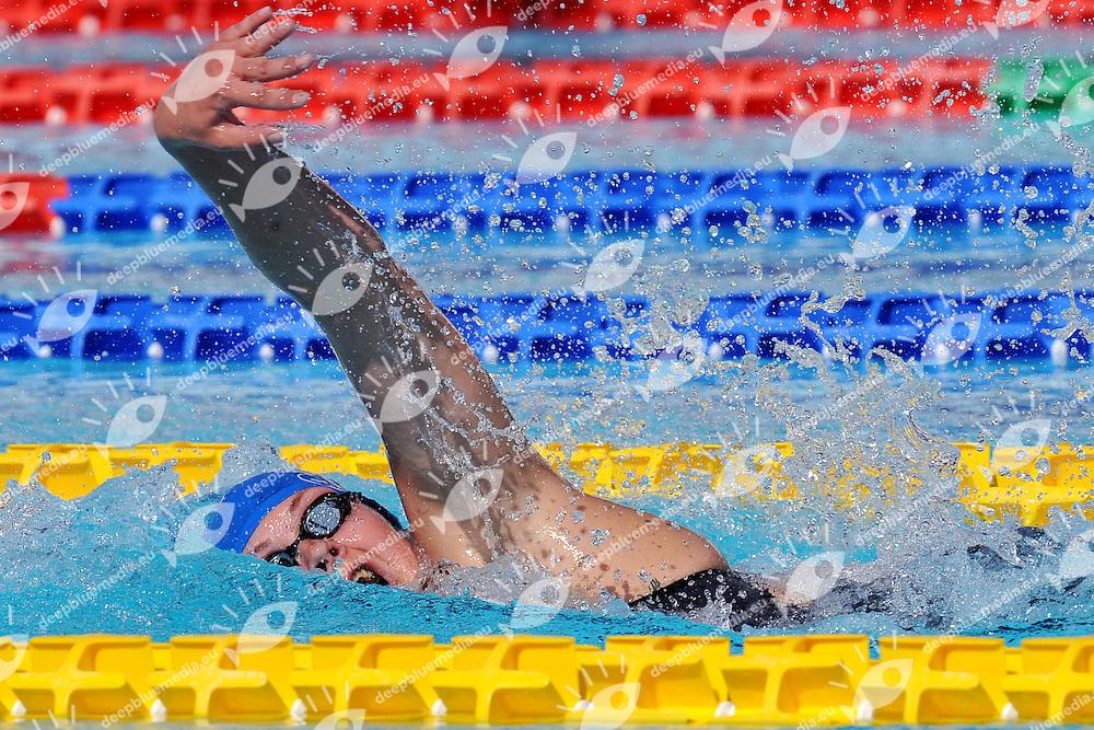 Lotte Friis <br /> 800m Freestyle Women<br /> Roma 15/6/2013 Piscina del Foro Italico <br /> Nuoto 50mo trofeo Settecolli<br /> Settecolli 50th International swimming trophy <br /> Foto Antonietta Baldassarre Insidefoto