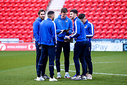 Bristol Rovers arrive at Doncaster Rovers - Mandatory by-line: Robbie Stephenson/JMP - 26/03/2019 - FOOTBALL - Keepmoat Stadium - Doncaster, England - Doncaster Rovers v Bristol Rovers - Sky Bet League One