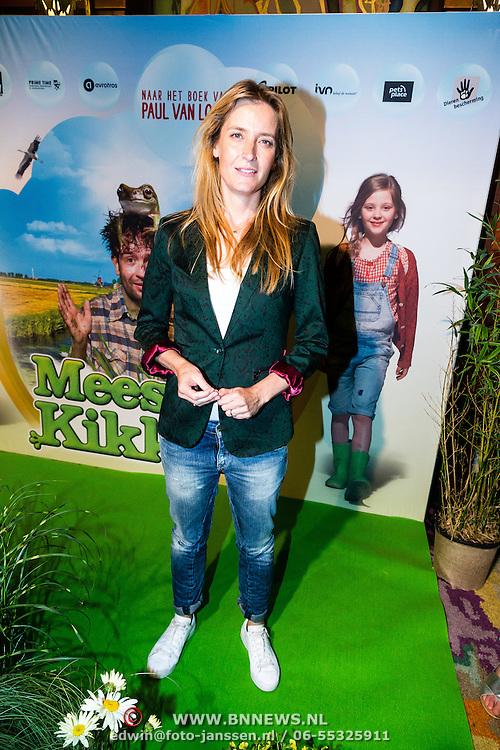 NLD/Amsterdam/20160716 - Groene loper première Meester Kikker, Jetske van den Elzen