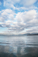 San Juan Islands seen from Guemes Channel, Washington