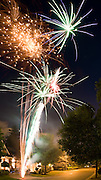 A montage of Canada Day fireworks, Pickering Ontario..July 1, 2010
