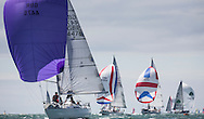 Image licensed to Lloyd Images <br /> Aberdeen Asset Management Cowes Week 2015. Day 2 of racing, picture shows the &quot;Sigma&quot; fleet  <br /> Credit: Lloyd Images