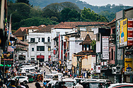 Downtown streets in Kandy, Sri Lanka, Asia