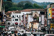Downtown streets in Kandy, Sri Lanka, Asia
