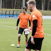 NLD/Zeist/20191123 - persconferentie Nationaal Artiesten Elftal van de KNVB, Toine van Peperstraten en Charly Luske