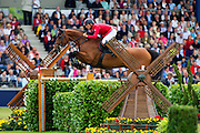 Pius Schwizer - Carlina<br /> World Equestrian Festival, CHIO Aachen 2012<br /> © DigiShots