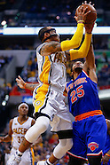 NBA Basketball - Indiana Pacers vs New York Knicks - Indianapolis, In