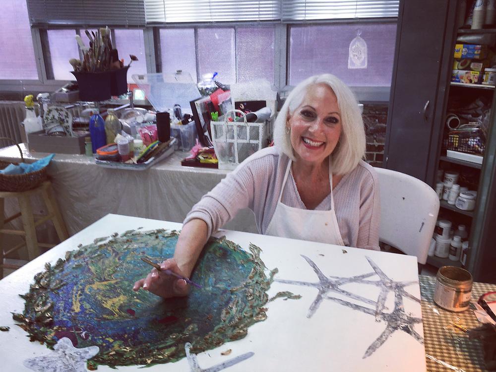 Elaine Soltis, artist, GoggleWorks Center for the Arts, Reading, Berks Co., PA