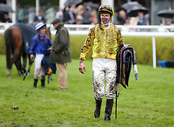 David Probert after the TMT Group Handicap during Boodles Ladies Day at Chester Racecourse.